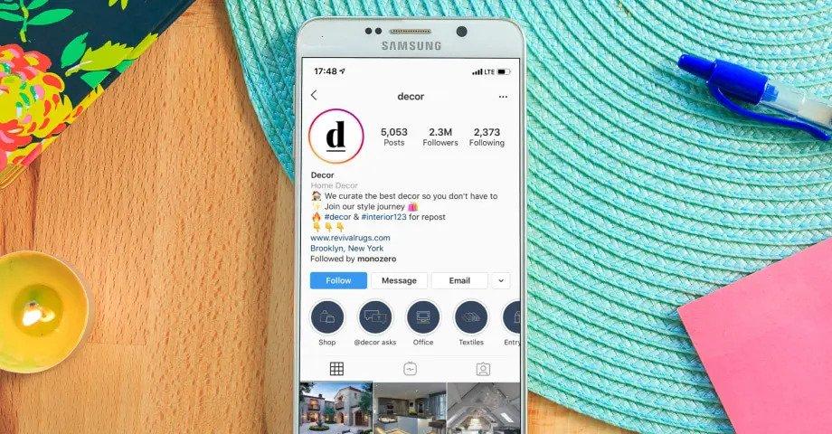 instagram highlight