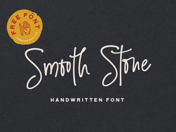 smooth stone font