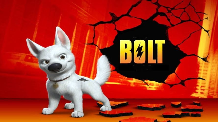 Bolt film tentang anjing