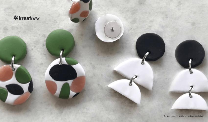 earring clay