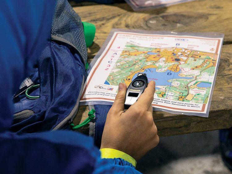 olahraga orienteering