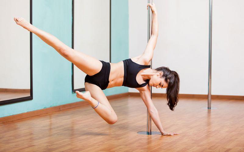 olahraga pole fitness