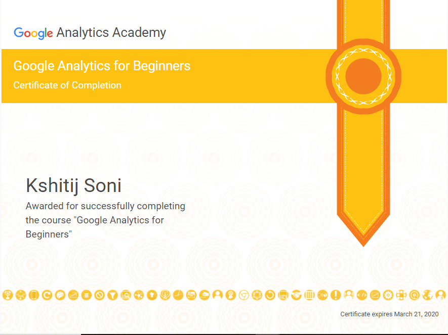 website sertifikat online Google Analytics Academy