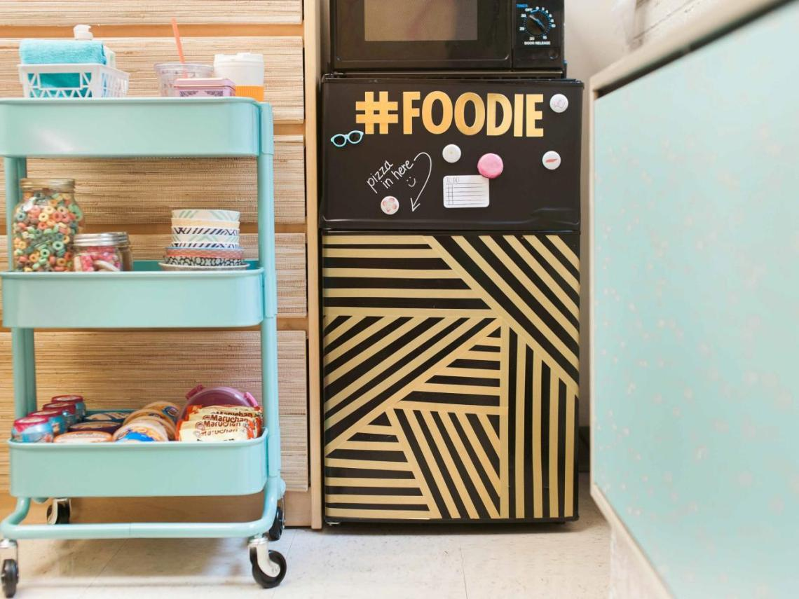 tips dekorasi kamar kos, Pancarkan Esensi Dapur yang Nyaman