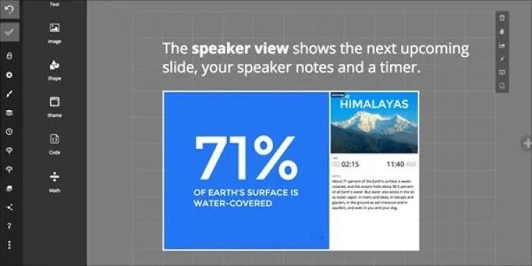 Slides, aplikasi presentasi selain powerpoint