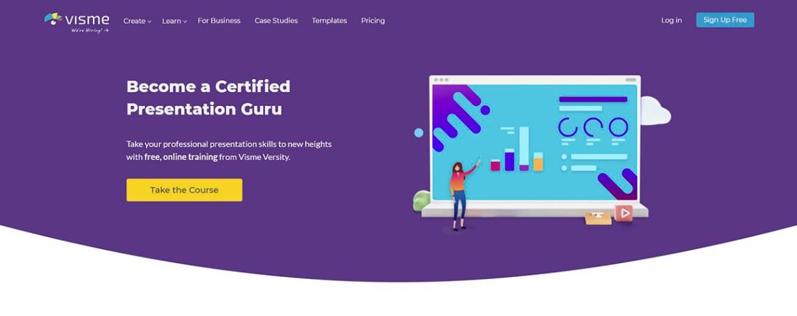 Become-Certified-Presentation-Guru – Visme