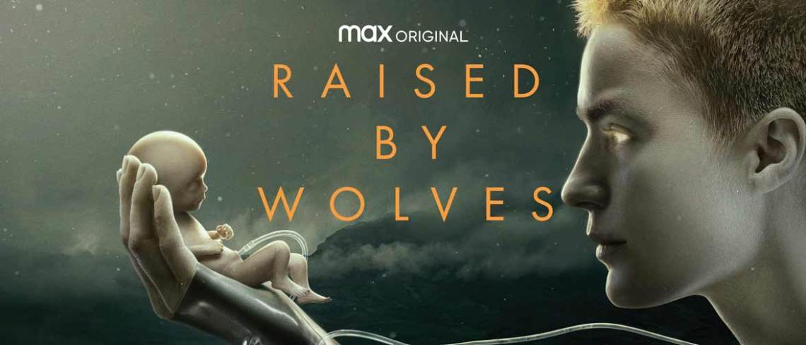 film bertema dystopia Raised by Wolves (2020)