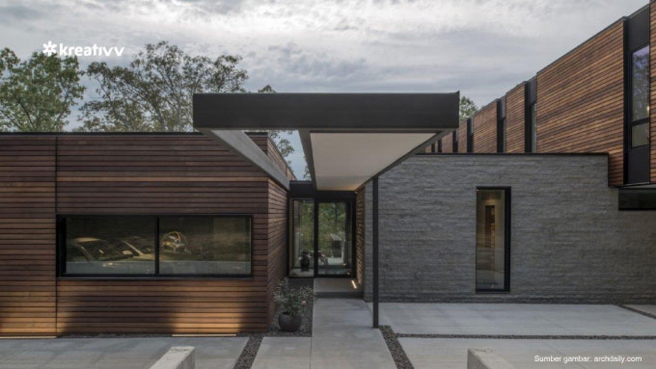Inspirasi Desain Rumah Unik Kekinian Untuk Tempat Tinggalmu Kreativv