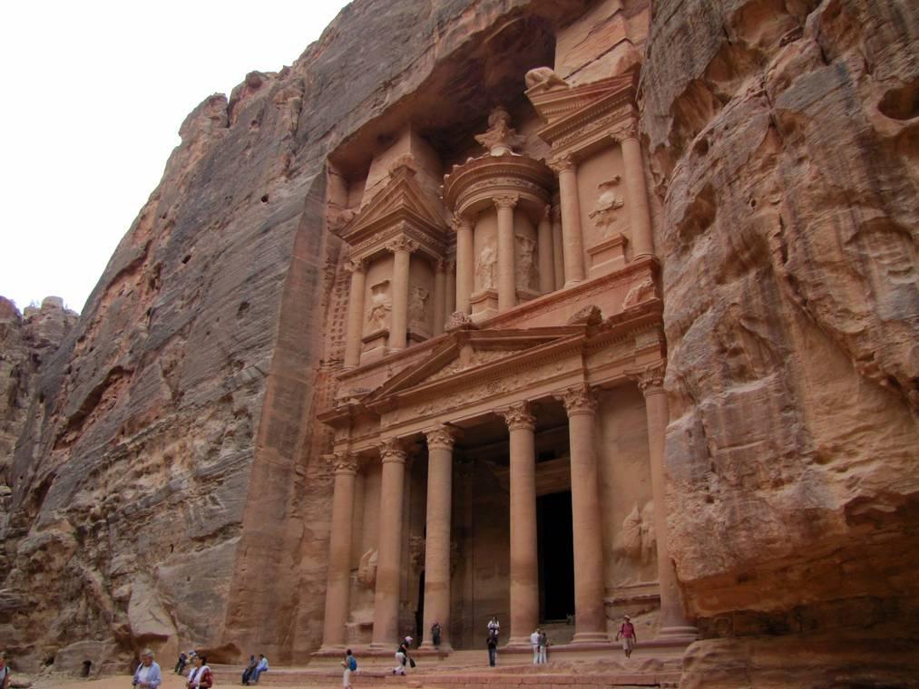 Petra-di-Yordania