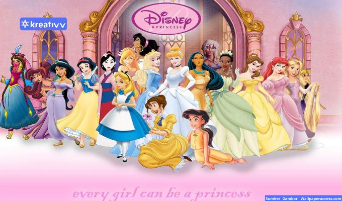 Karakter Disney Princess