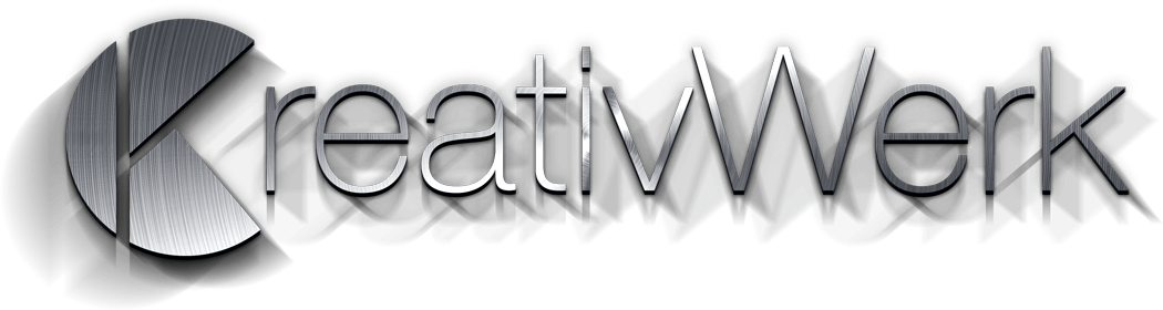 KreativWerk Logo Metall