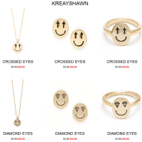 $5 Sale On All Kreayshawn + OK1984 Jewelry Collection