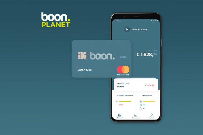 Boon Planet Mastercard und App