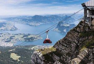 Pilatus dragon ride aerial cableway