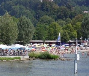 Lido at Lake Lucerne