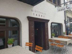 Wirtshaus Taube restaurant entrance