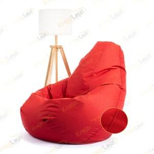 Lazy BAG JUMBO XXL Crveni Šoteks ( 270×130 ) –  DOSTAVA JE BESPLATNA