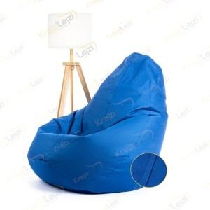 Lazy BAG JUMBO XXL Plavi Šoteks ( 270×130 ) –  DOSTAVA JE BESPLATNA
