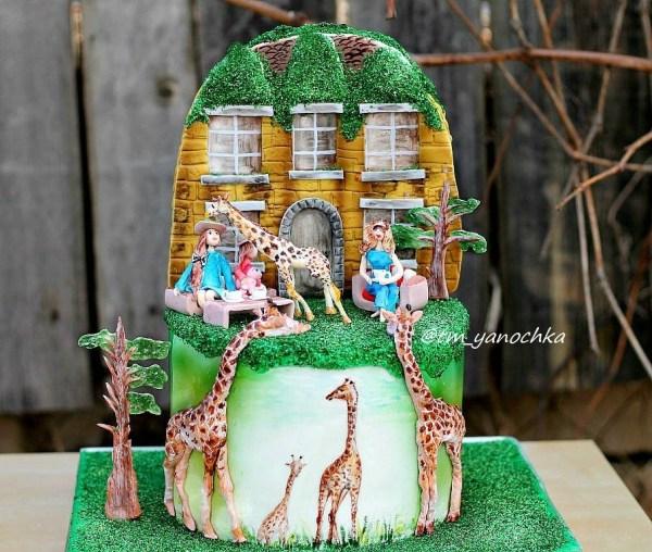 Фото тортов на день рождения. 42 фотографии