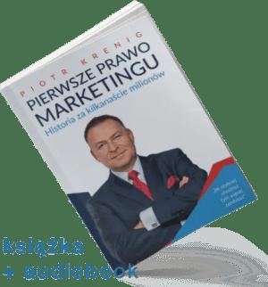 """""""Pierwsze Prawo Marketingu"""" książka + audiobook"""