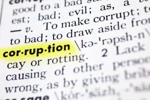 Corruption Definition - Criminal Defense Attorney
