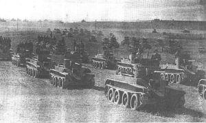 Kolumna czołgów BT-5