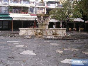 Morosini-Brunnen.