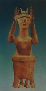 minoische Gottheit Karfi