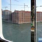 Auslaufen aus Venedig