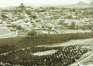 Die westlichen Vororte von Iraklion.