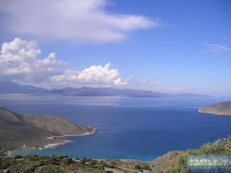 Blick von der Strasse von Agios Nikolaos nach Sitia
