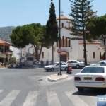 Kirche bei der großen Kreuzung von Malia
