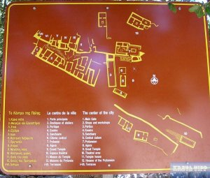 Übersichtsplan der Stadt Lato