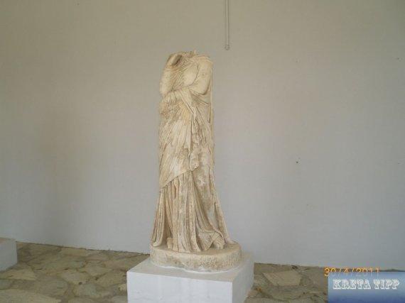 Statuen von Gortis