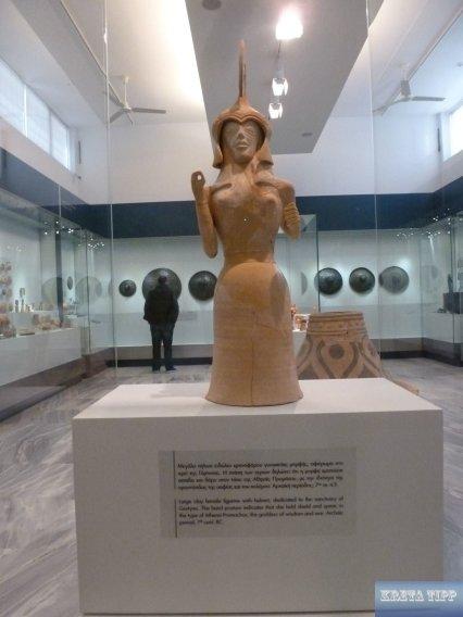 Figur der Gottheit Athena