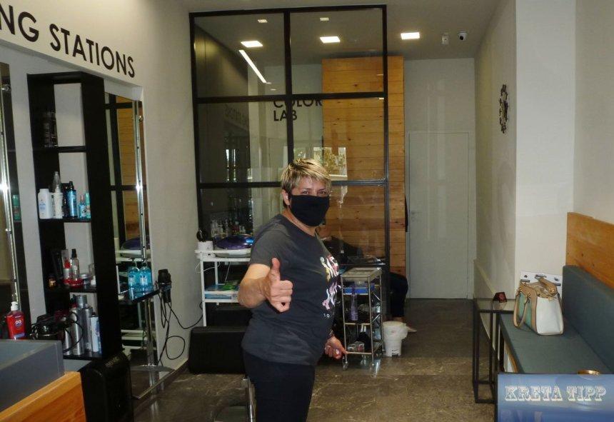 Friseursalons öffnen nach Shutdown