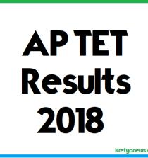 ap tet 2018 results