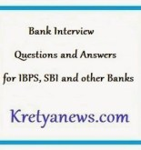 Bank Interview Questions and Answers for clerk , po , specialist officers, ibps, sbi,icici