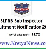 Telangana SI recruitment notification 2018