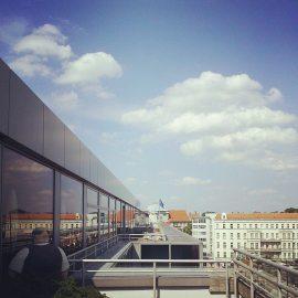 Karstadt roof terrace, Berlin-Kreuzberg.