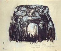Die Mütter by Käthe Kollwitz, 1921 (today at Boston´s Museum of Modern Art)