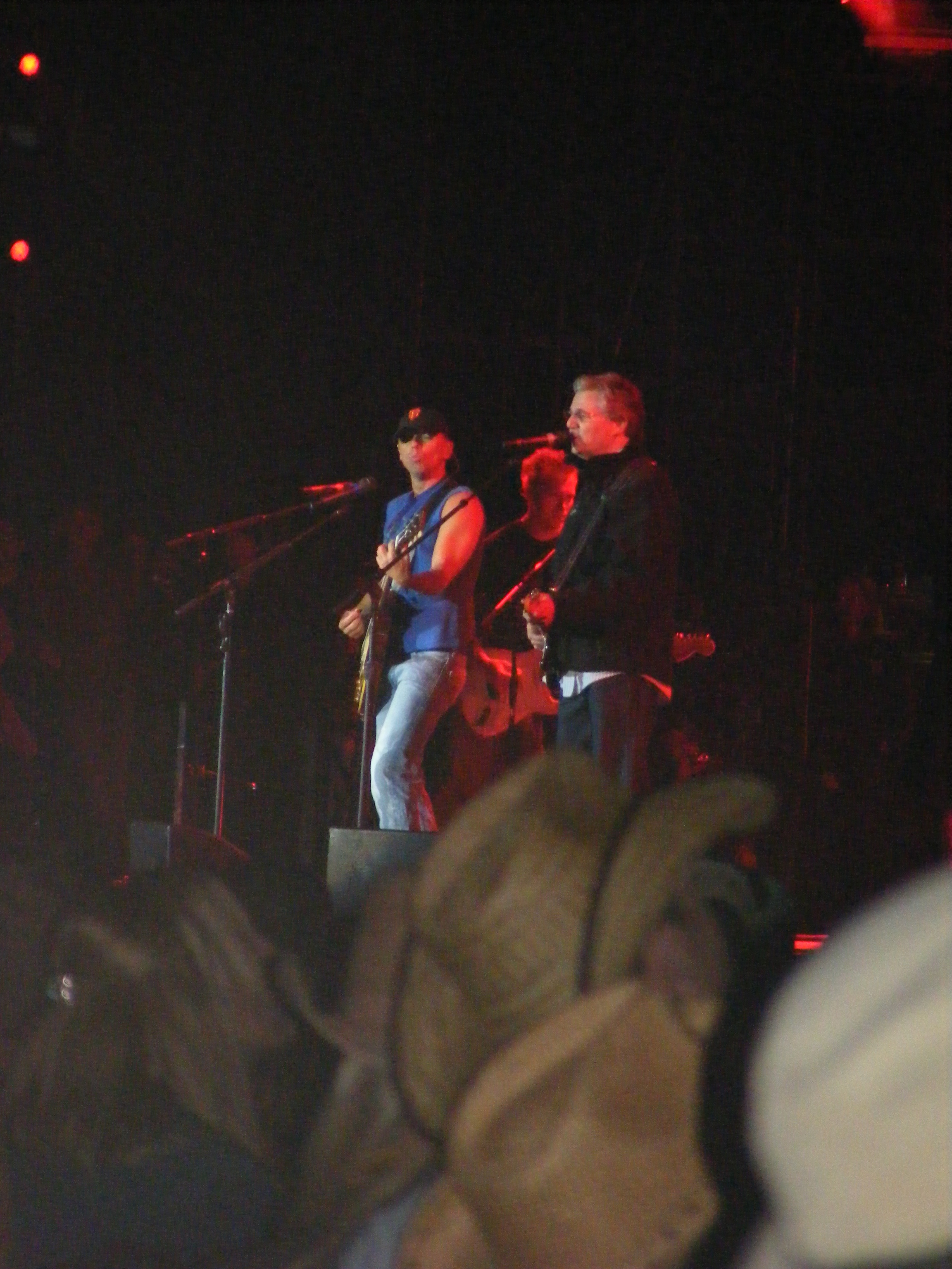Kenny with Steve Miller