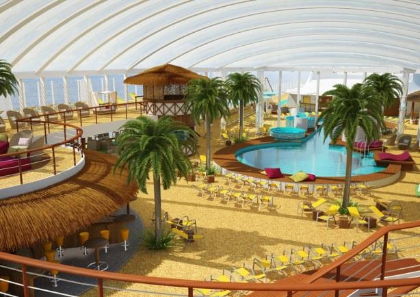 AIDAprima Beach Club