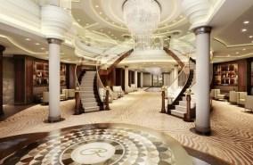 Regent Seven Seas Explorer Lobby