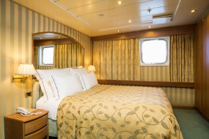 Cruise & Maritime Voyages Astoria Owners Presidential Suite Ocean View with balcony