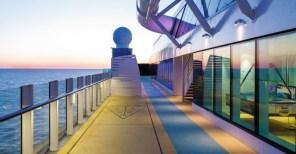 AIDA Cruises Aussendeck Helios Klasse