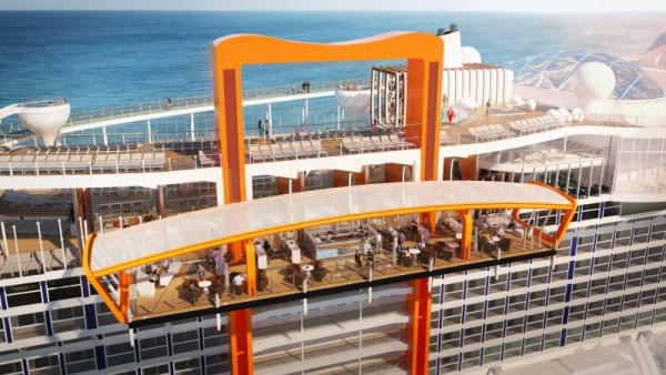 Celebrity Cruises Celebrity Edge Magic Carpet