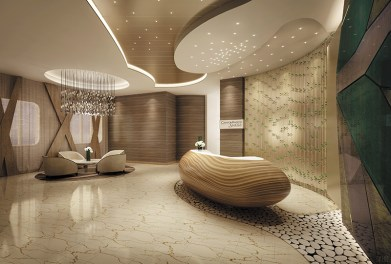 Regent Seven Seas Explorer Spa Interior_Lobby