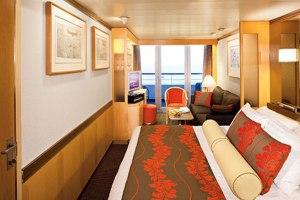 MS Veendam Holland America Line Balkon kabine