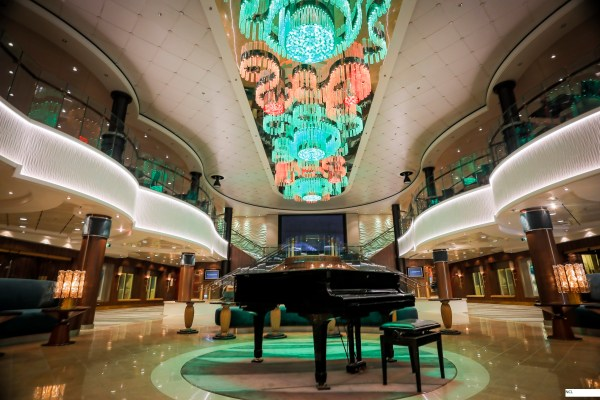 Norwegian Cruise Line NCL Jade The Atrium